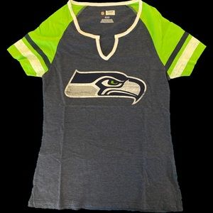 Seattle Seahawks two-tone gameday shirt